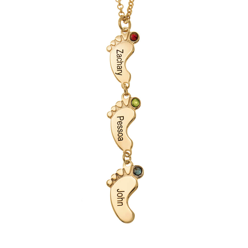 Vertical-Baby-Feet-Necklace-with-Birthstones-gold